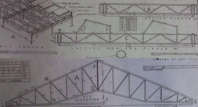 Brief Description Of Tubular Steel Monitor Roof Truss Roof Trusses Steel Trusses Construction Estimating Software