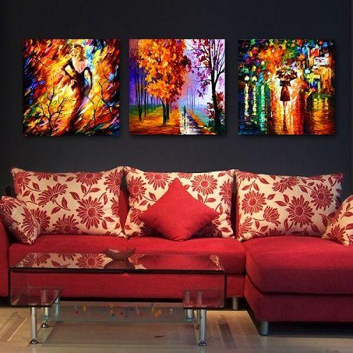 Pinturas Al Oleo Modernas Para Una Sala Pequena Imagenes Para Decorar Pintura Al Oleo Decoracion De Unas