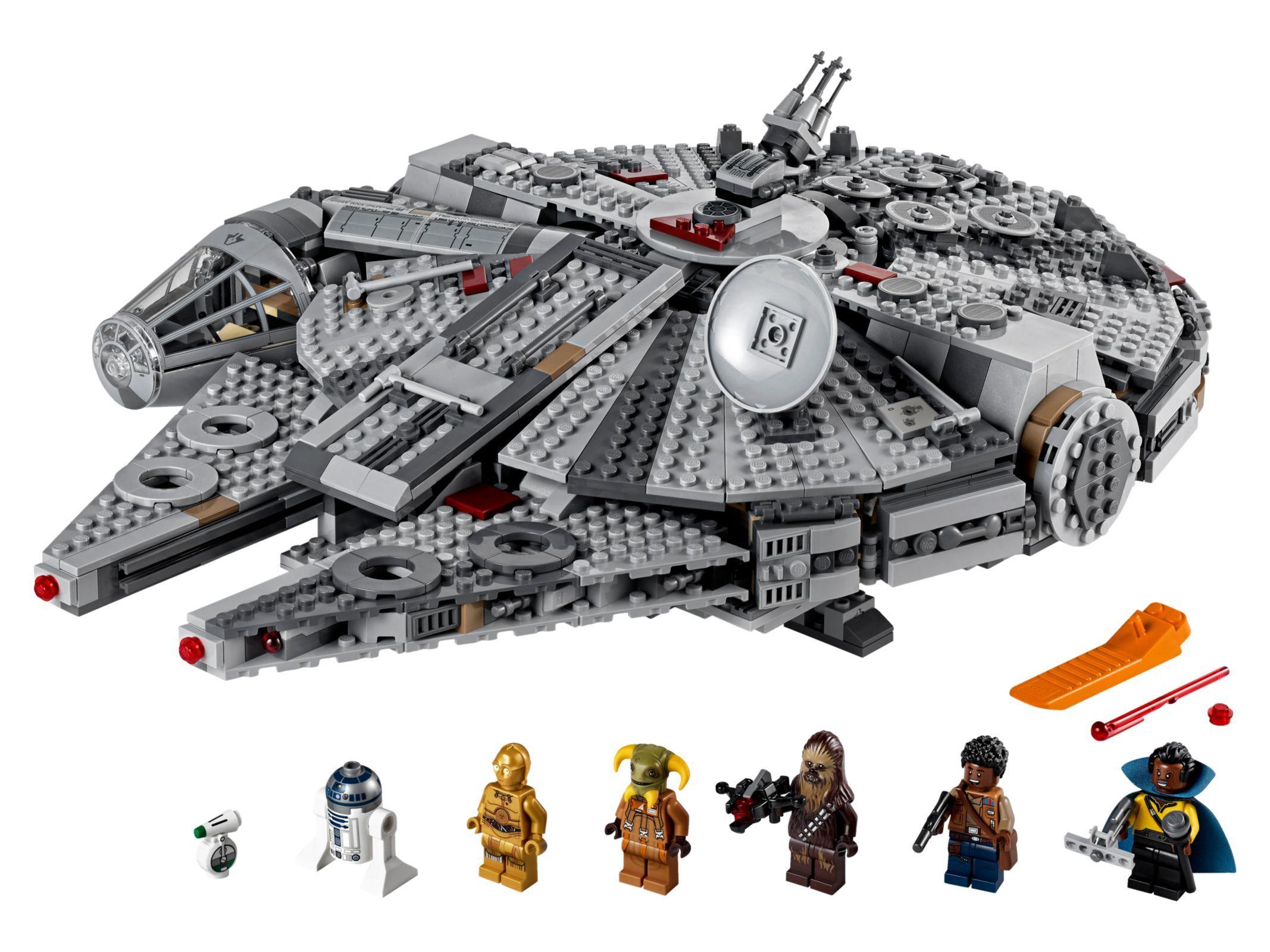 Millennium Falcon 75257 Star Wars Buy Online At The Official Lego Shop Us Halcon Milenario Y Tatuaje De Halcon