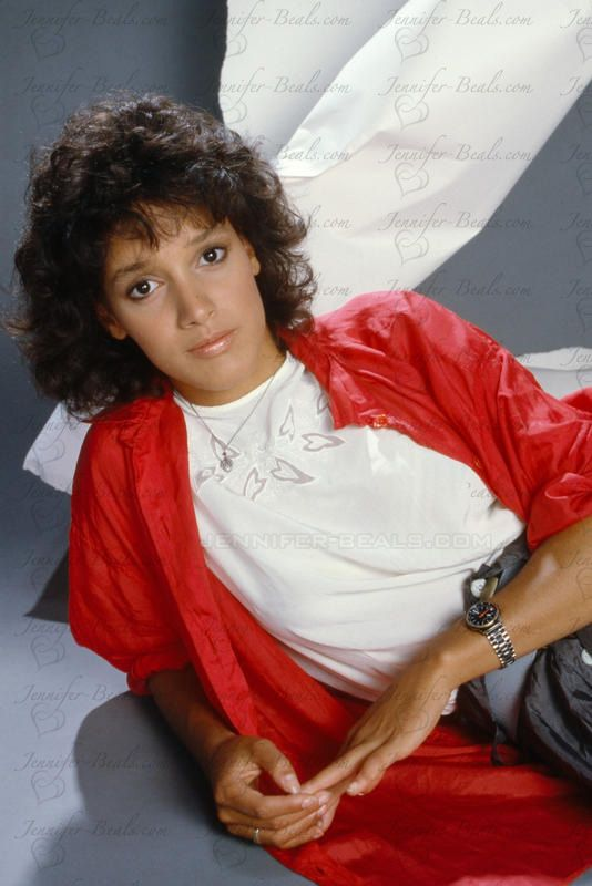 Jennifer Beals : Hairstyles , Great for naturally curly hair.