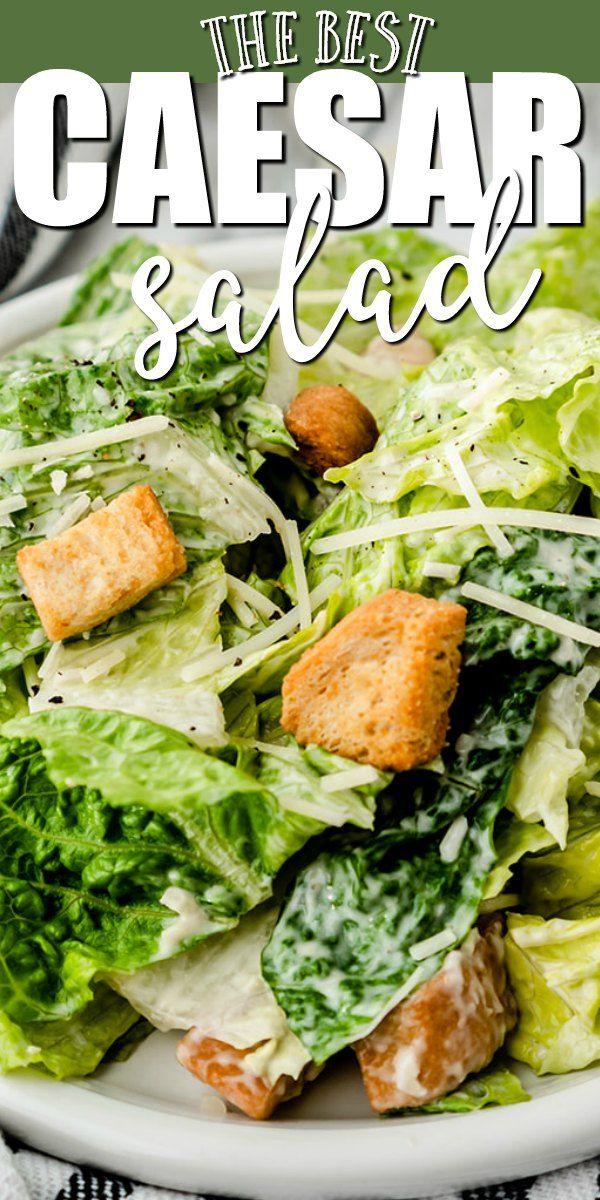 Classic Caesar Salad Recipe