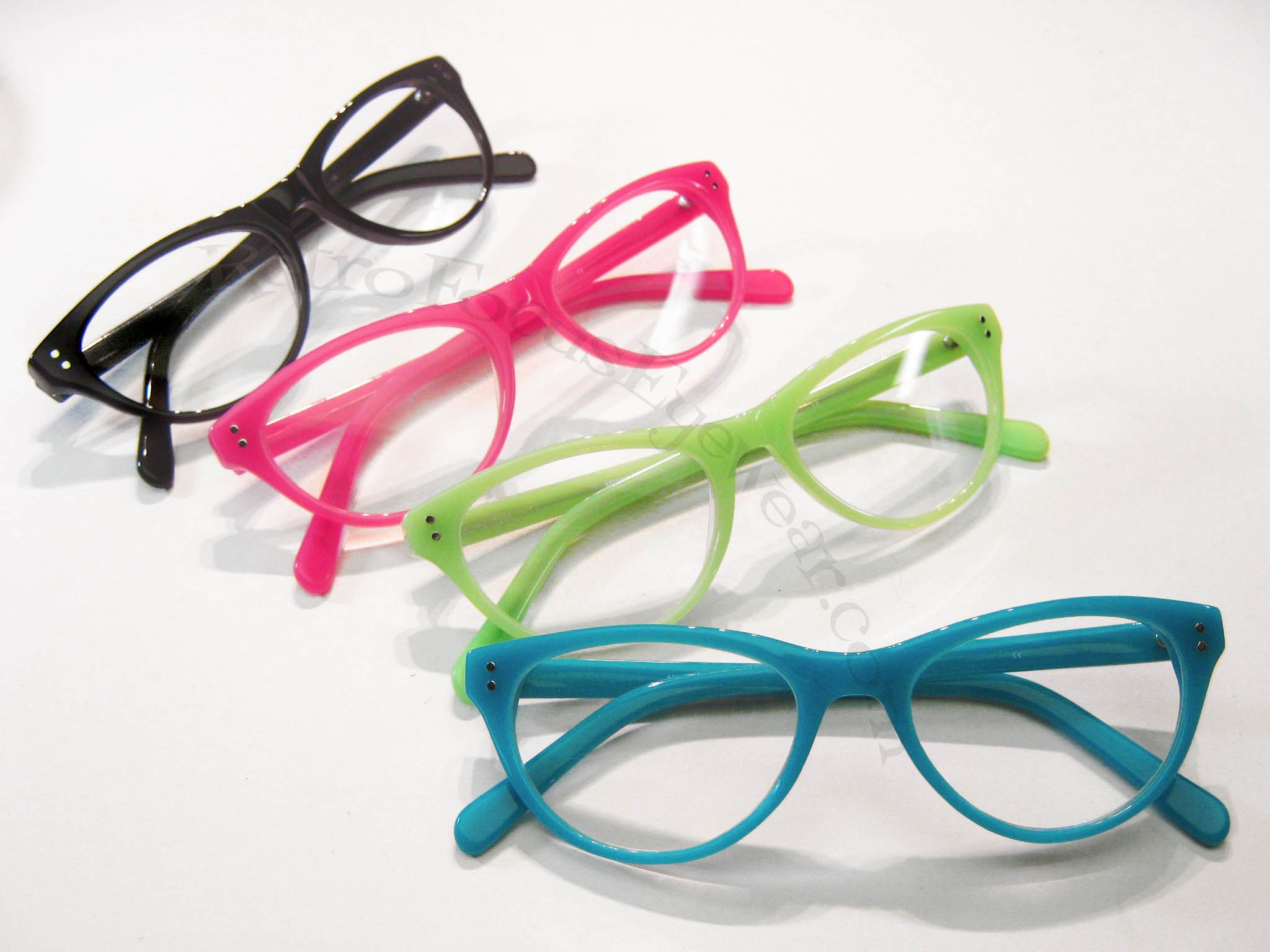 c2675a1fda4c Wicked Cat Eyes, Optical Frames - Neon Cat Eye Reader | Retro Focus Eyewear