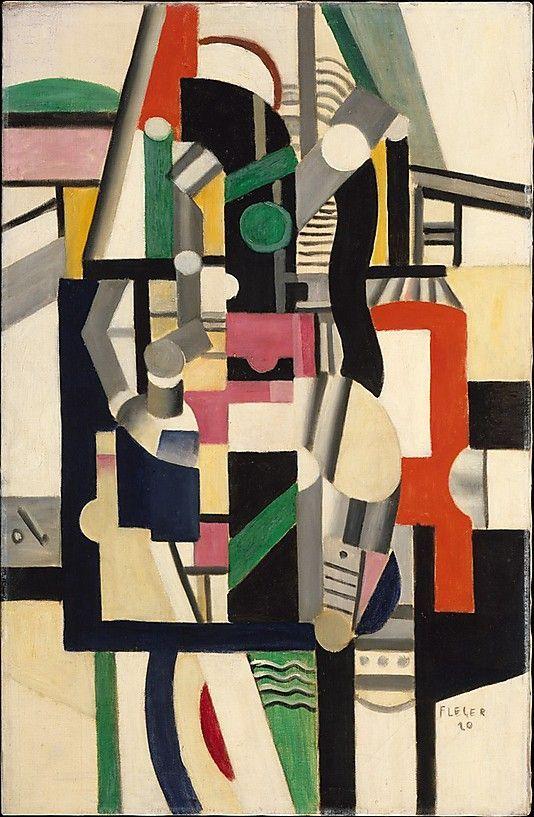 Fernand Leger: Mechanical Elements, 1920, Metropolitan Museum of Art.
