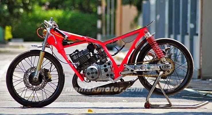Modifikasi Yamaha Rx King Versi Drag Terbaru