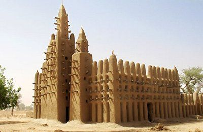 Mezquita Kani Combole (Mali) La arquitectura de tierra | Días del futuro pasado