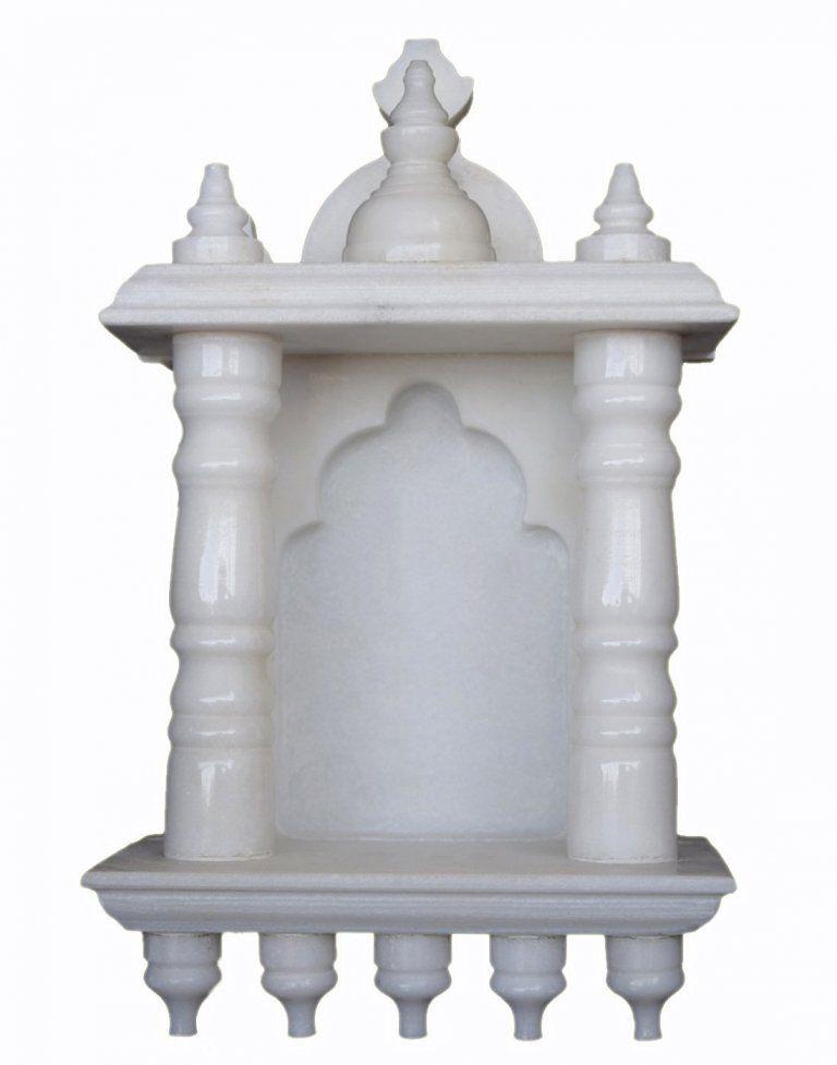 Marble Pooja Mandir Designs | House | Pinterest | Marbles, Room and ...
