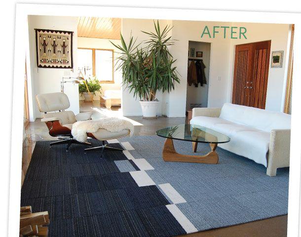 cool flor rug idea