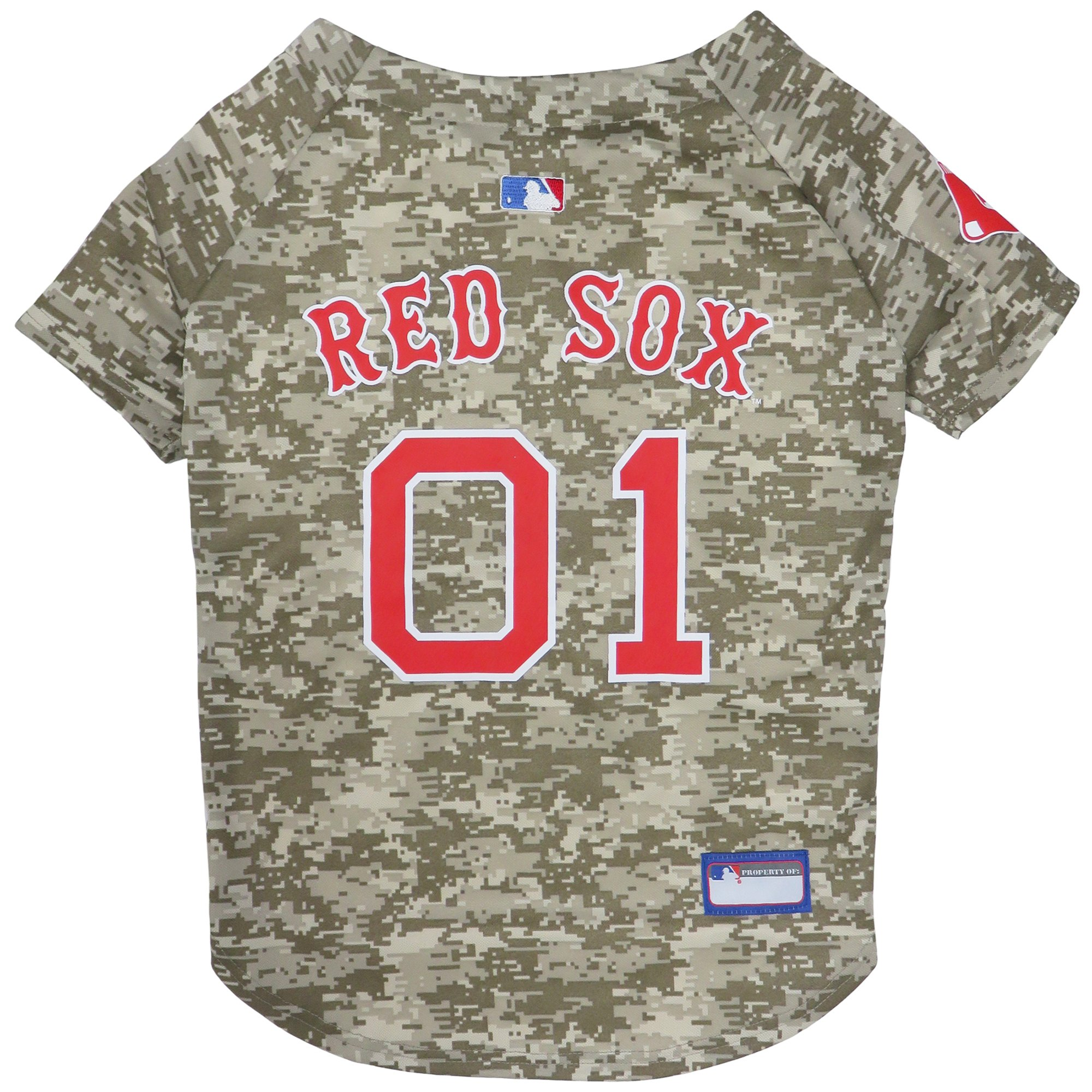 Pets First Boston Red Sox Camo Jersey X Large Boston Red Sox Mlb Teams Sports