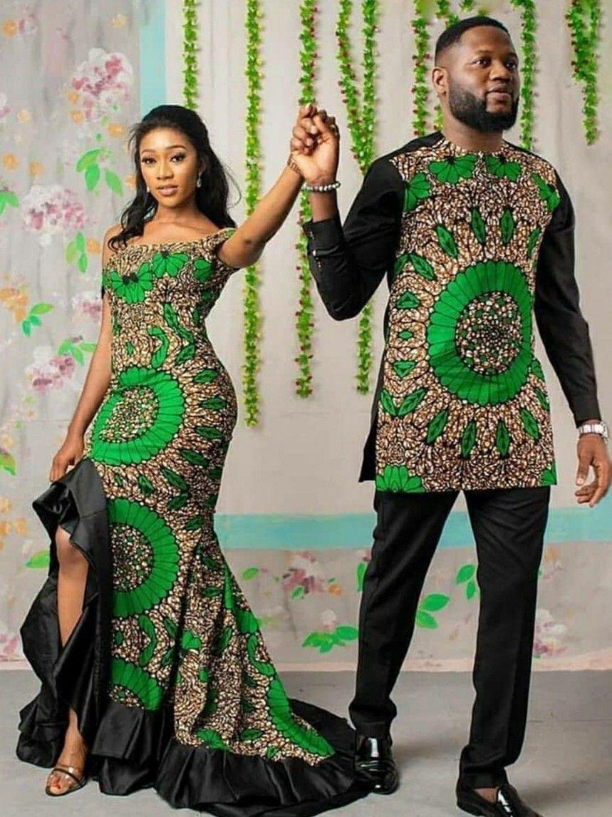 Latest Ankara Styles For Traditional Wedding