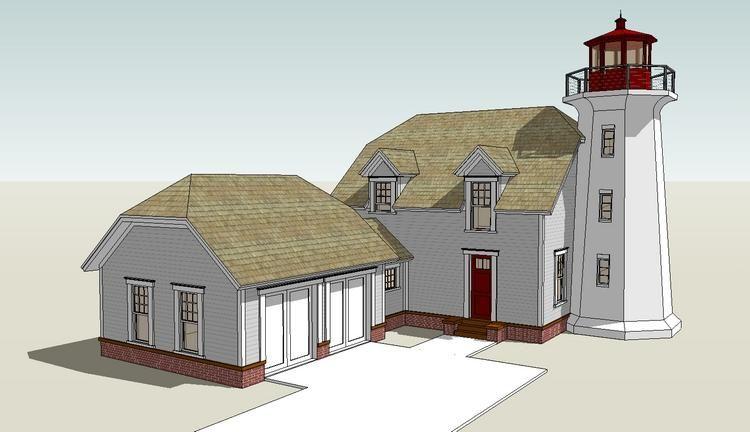 House Plan 028 00064 Coastal Plan 2 082 Square Feet 3 Bedrooms 2 5 Bathrooms Coastal House Plans Cape Cod House Plans House Plans