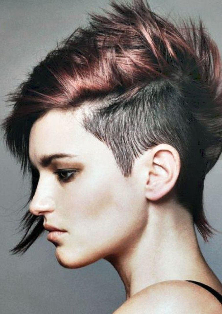 Short punk hair for guys