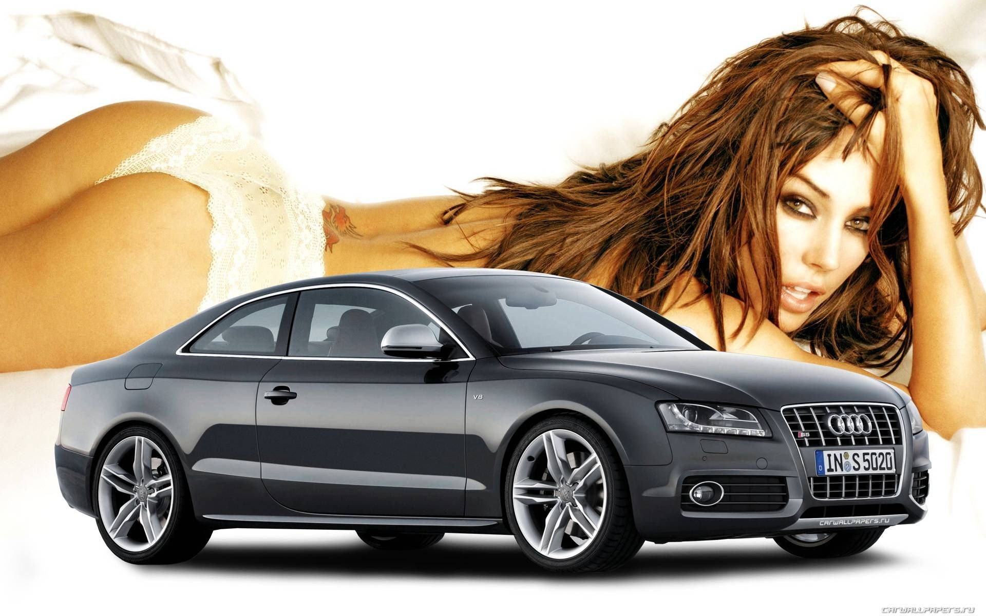 Audi S6 With Girl Jpg 1920 1200 Car Girls Car Wallpapers Audi S6
