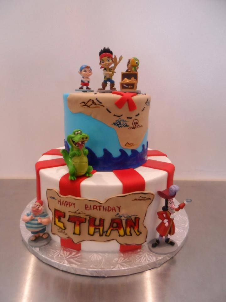 Swell Captain Hook Birthday Cake Gala Bakery San Lorenzo Ca Personalised Birthday Cards Arneslily Jamesorg