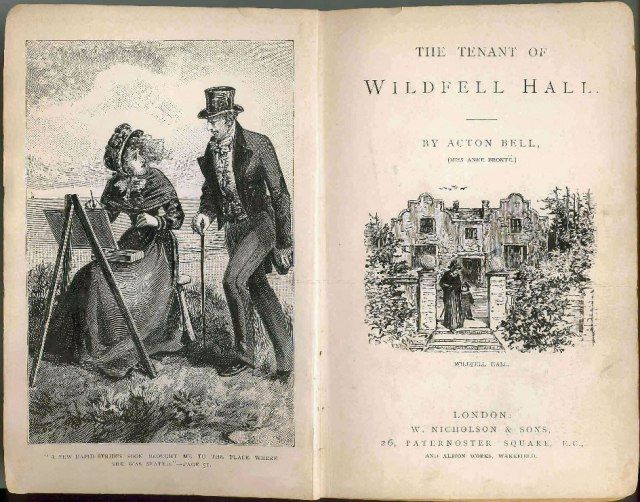 Review The Tenant Of Wildfell Hall Anne Brontë Literatura Victoriana Amantes De La Lectura Mini Libros