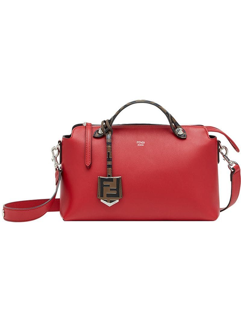 8b430bed Fendi medium By The Way tote - Red in 2019 | Products | Fendi ...
