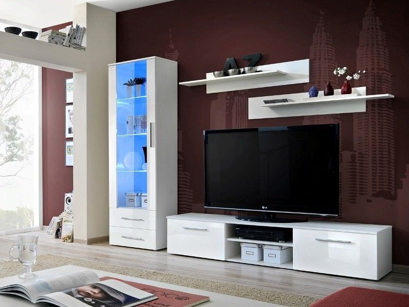 Montrose 4 Modern wall units, Living room wall units and Modern wall