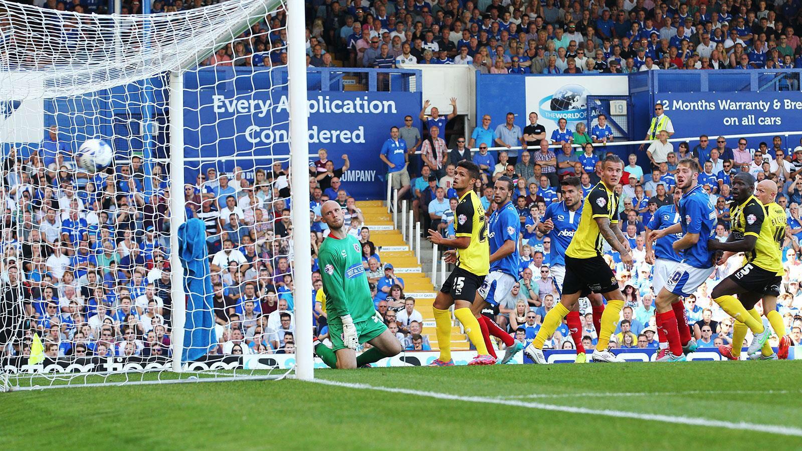 It's a Goal. Pompey 3-0 Win against dagenham and Redbridge at fratton park season 2015-16