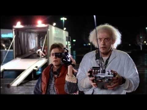 Back To The Future 1985 The Delorean The Future Movie Back