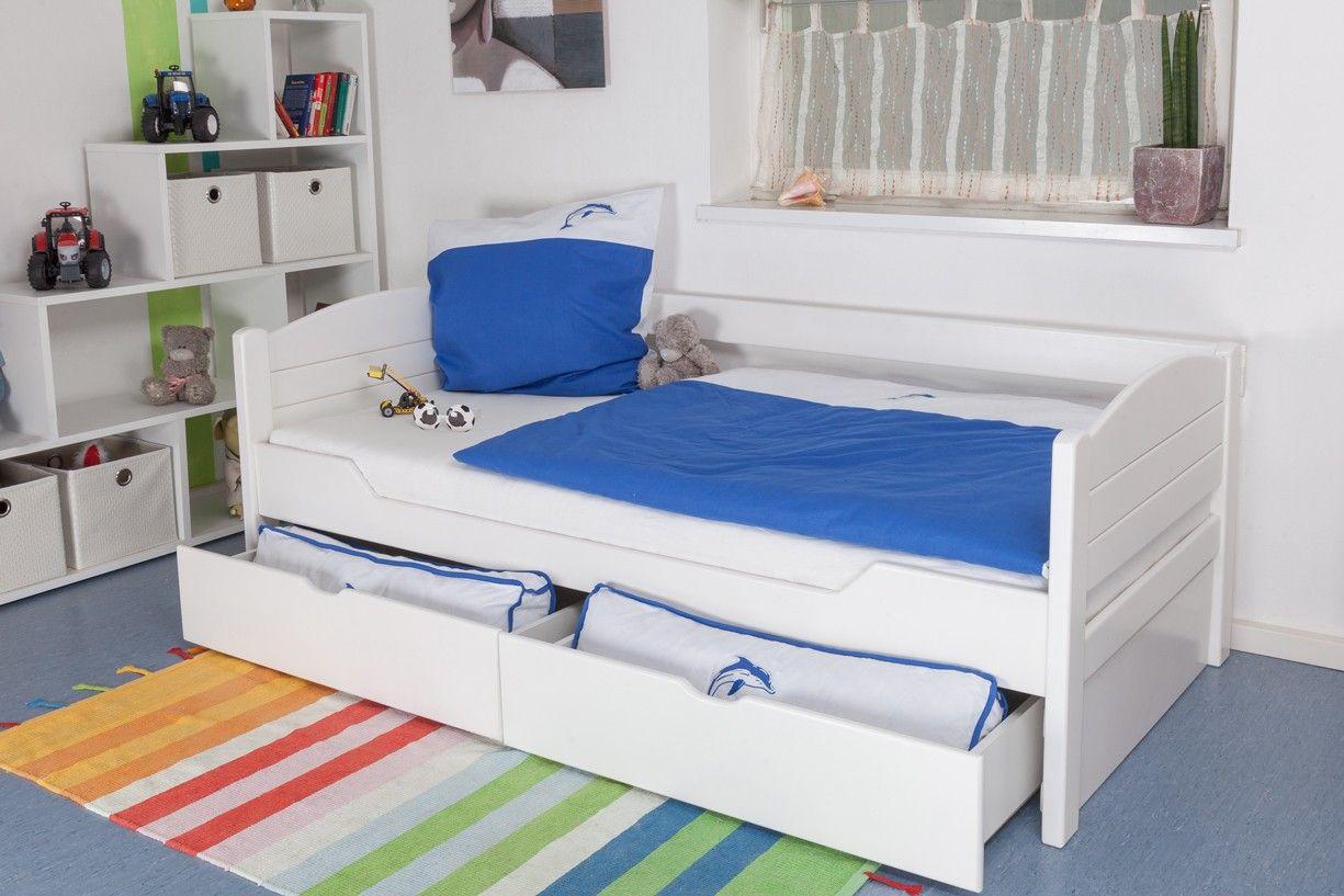Kinderbett / Jugendbett Easy Premium Line K1/s Voll inkl 2