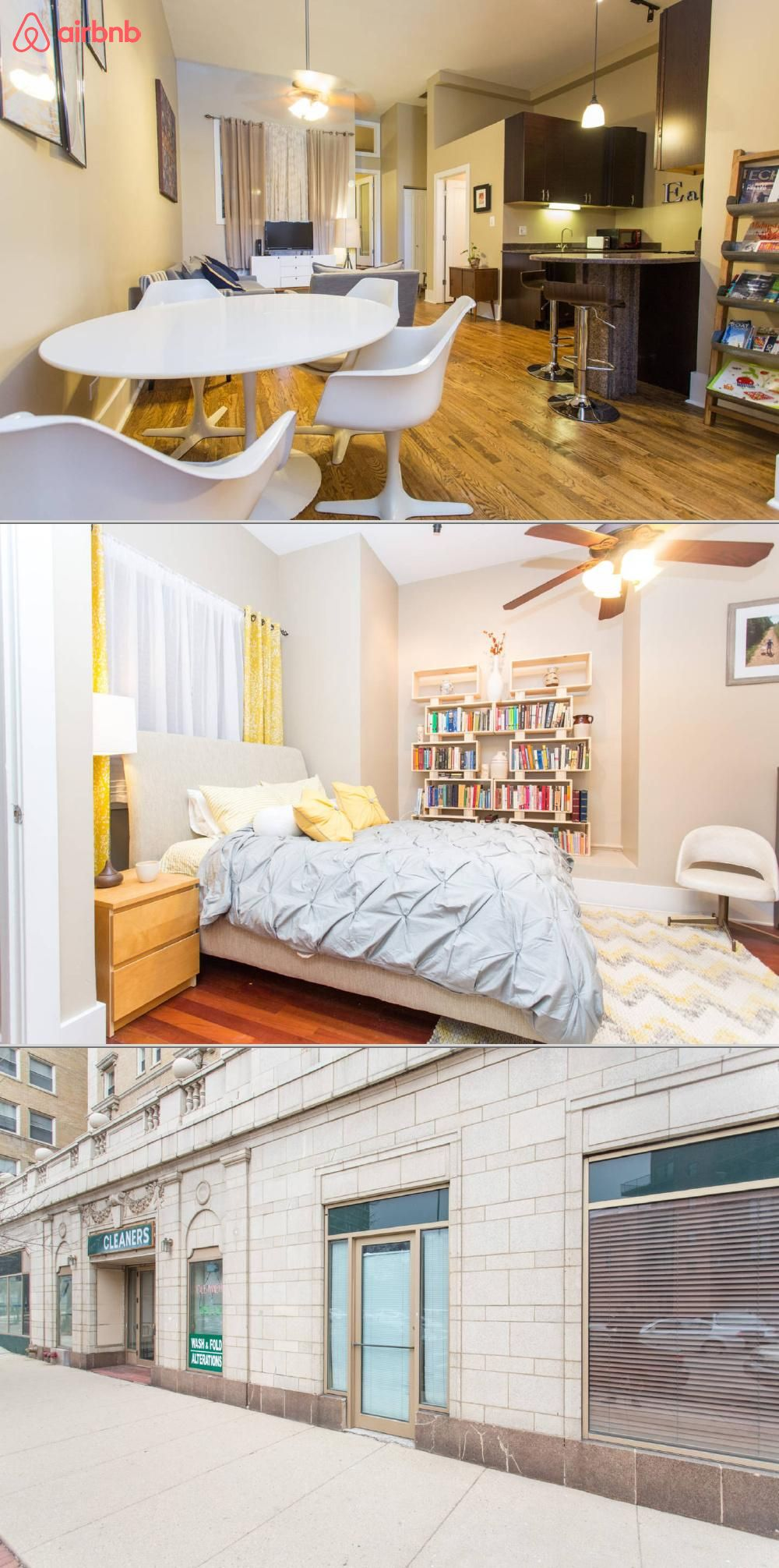 and unique loft apartment with two bedrooms and