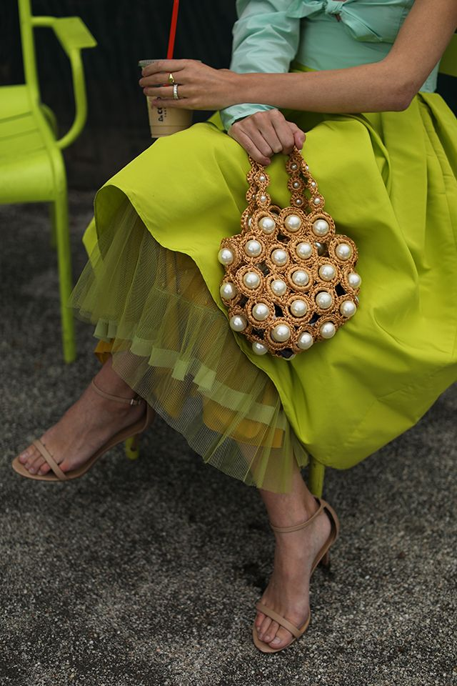 Pearl summer bag by Alameda Turquesa // Skirt by