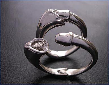 Wife son wedding ring cum