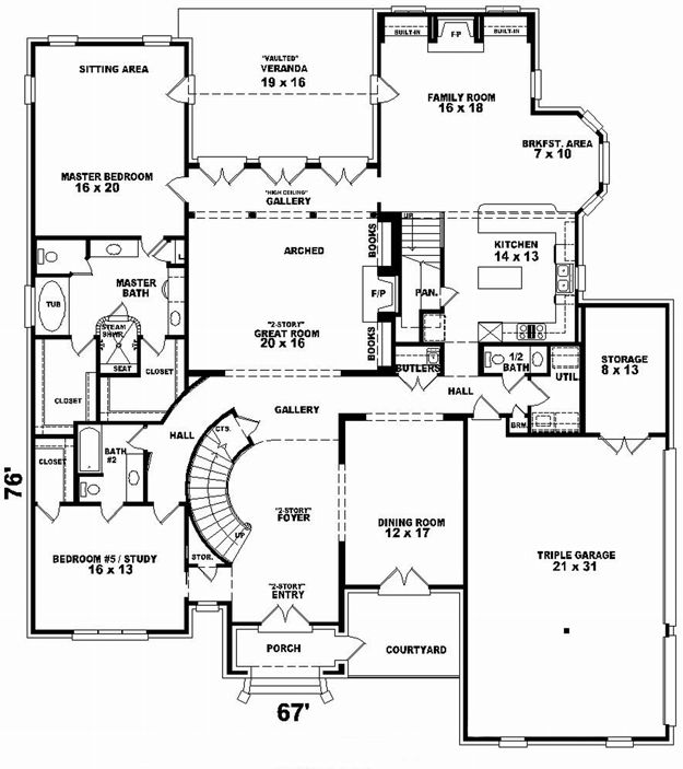 House Plans Home Plans And Floor Plans From Ultimate Plans Arquitectura Casas