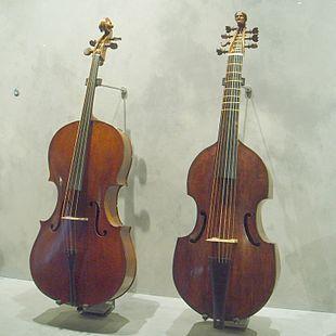 Violoncello vs Viola da Gamba