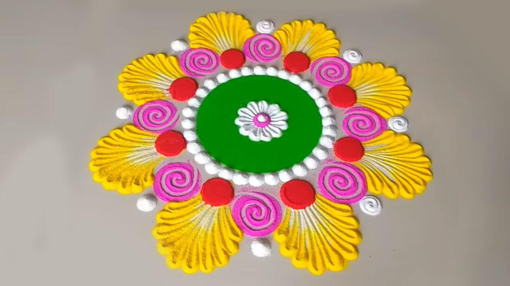50 Most Attractive Looks Fo Rangoli Designs on This Diwali