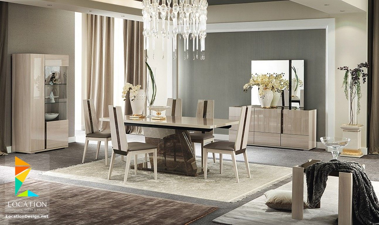 Furniture Village Dining Tables افضل 50 تصميم لديكورات غرف سفرة مودرن - best modern dining rooms