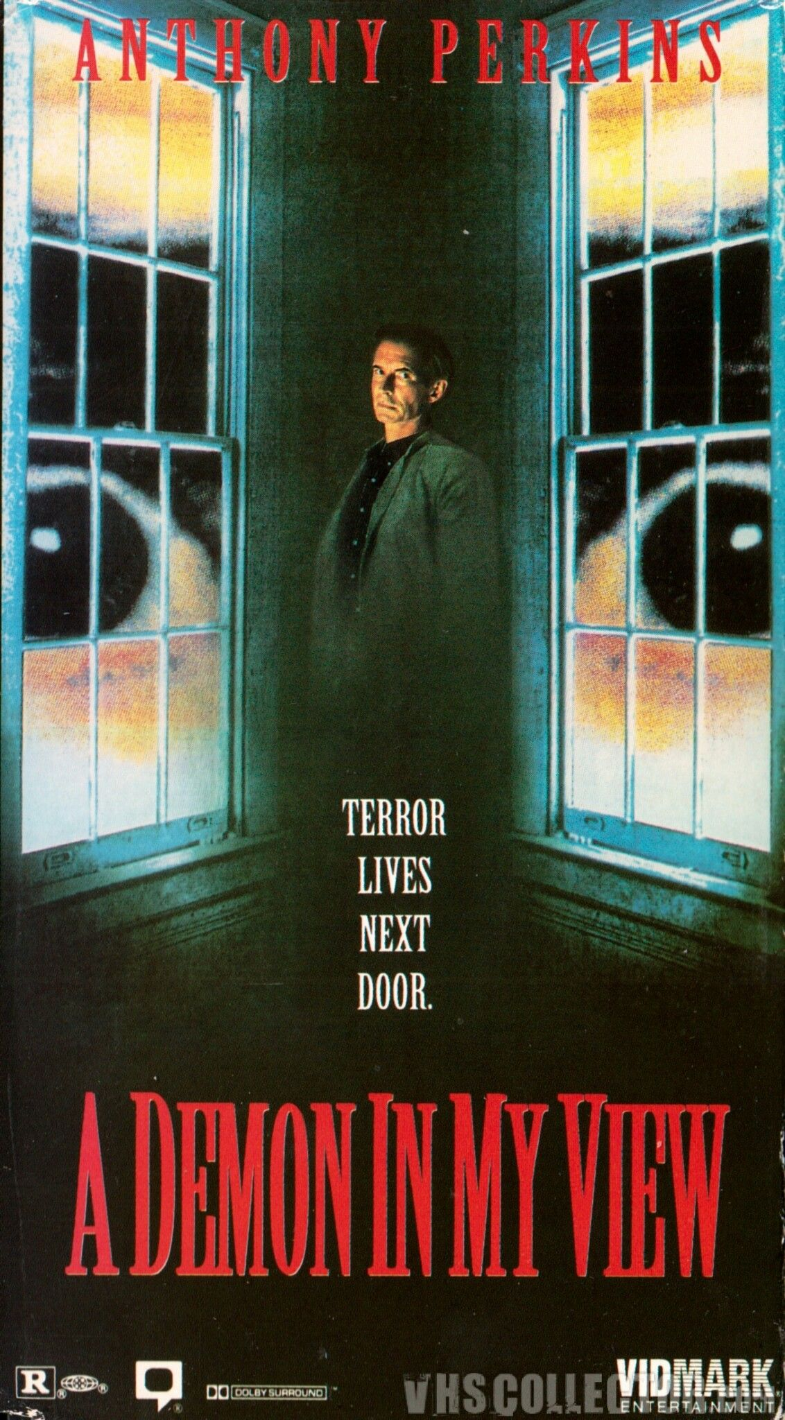 A Demon in my View (1992) Movie posters vintage, Horror
