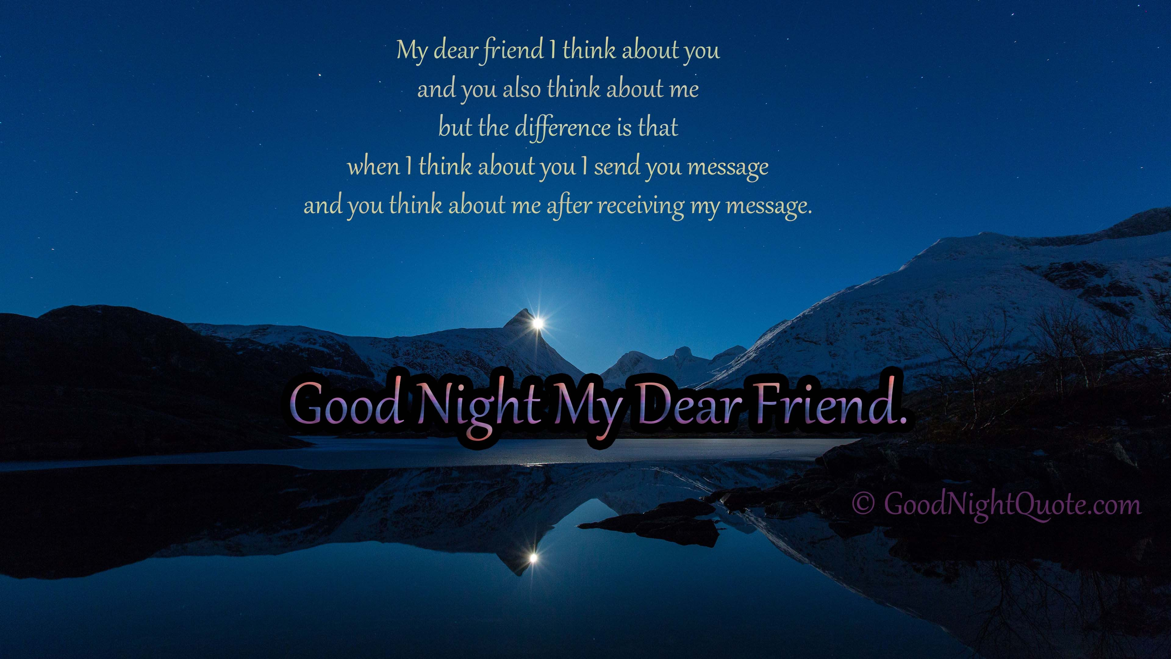 Funny And Creative Good Night Message For Dearest Friends Good