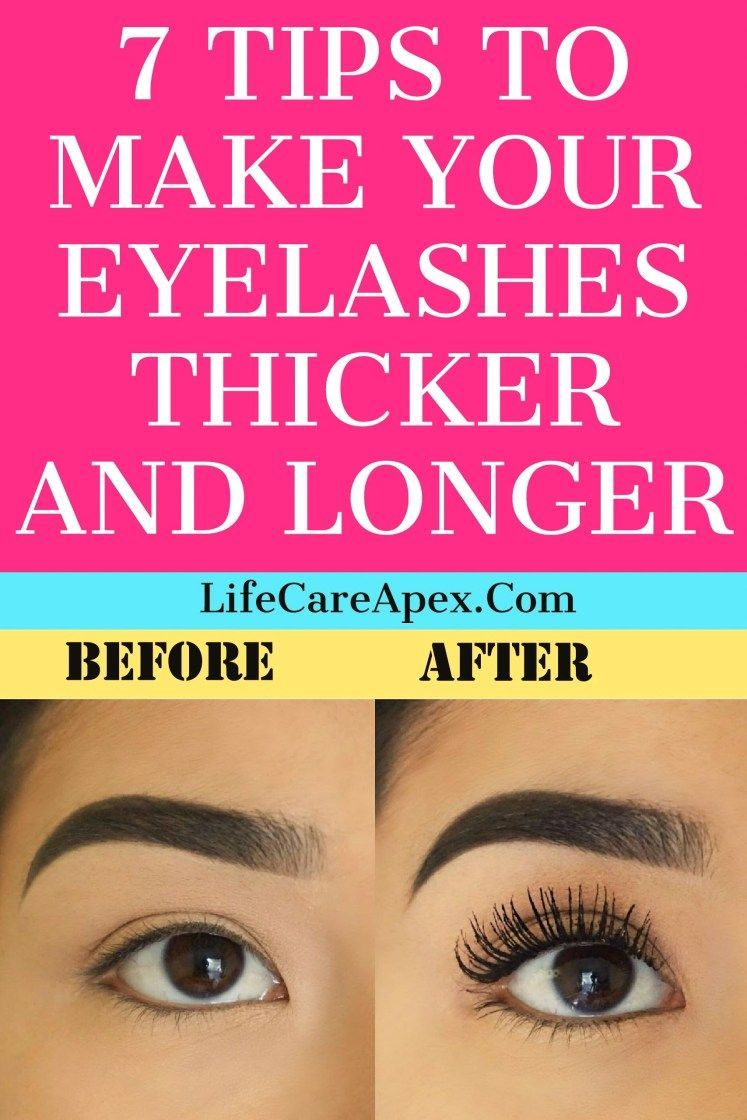 971dcd67e6b 7 TIPS TO MAKE YOUR EYELASHES THICKER AND LONGER #CheapBeautyProducts