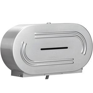Bradley Dual Jumbo Roll Toilet Tissue Disp 5425 00 Toilet Paper Dispenser Toilet Accessories Toilet