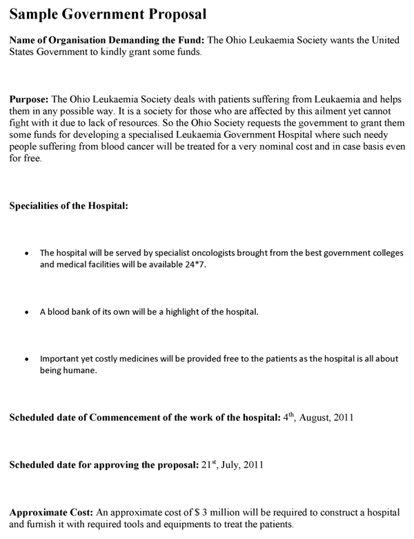 Government Proposal Template Why Is Government Proposal Template Considered Underrated In 2020 Proposal Templates Business Proposal Template Project Proposal Template