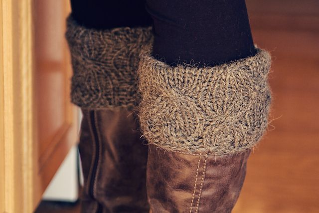 Boot Candy Boot Cuffs/Boot Toppers pattern by Sara Gresbach
