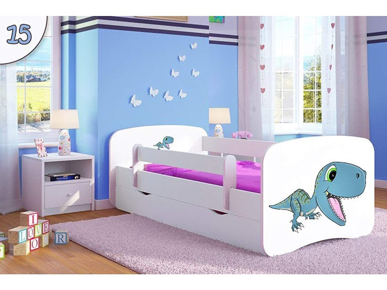 Kocot Kids Kinderbett Jugendbett Mit Rausfallschutz Matratze