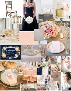 navy and blush wedding google search wedding planning pinterest wedding rustic garden. Black Bedroom Furniture Sets. Home Design Ideas
