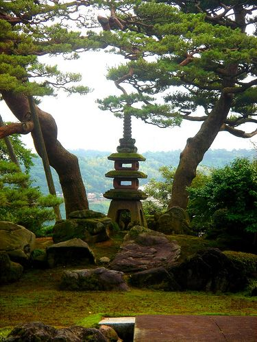 Kenroku-en - Kanazawa Japanese Garden Jardines japoneses, Japon y