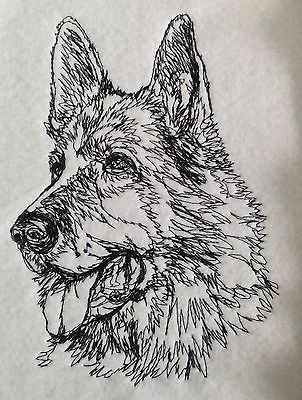 #Completed #embroidery #german shepherd,  View more on the LINK: 	http://www.zeppy.io/product/gb/2/172296735673/