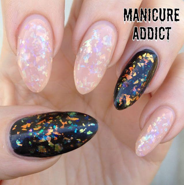 Manicure Addict: My 500th Post!! Revlon Opal Effect Nails (Video ...