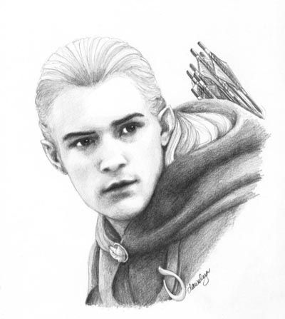 Ok that is one of the best drawings of legolas ive ever seen whoever drew that is amazing
