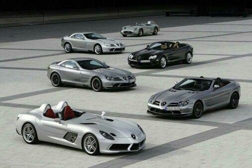 Benz SLR mclean heritage