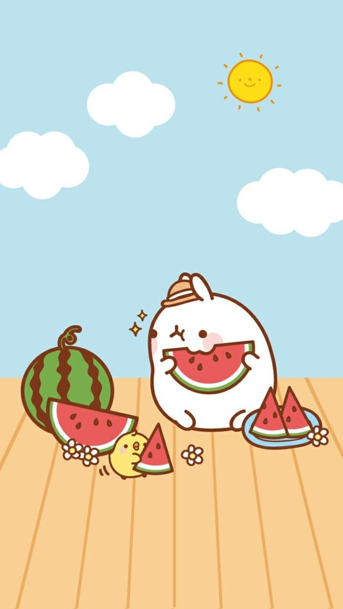 Watermelons are the best thing to eat! Especially in the
