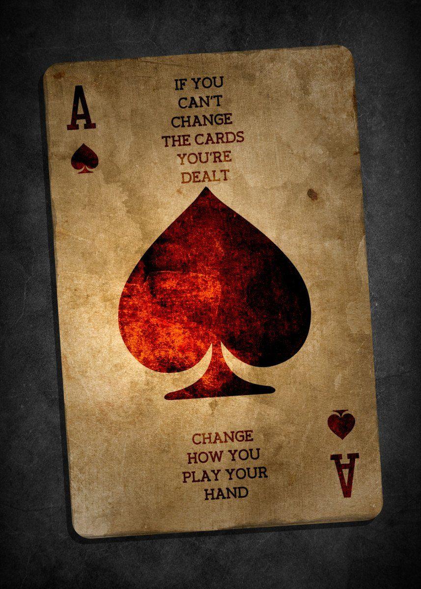 'Cards' Metal Poster - max salkov   Displate