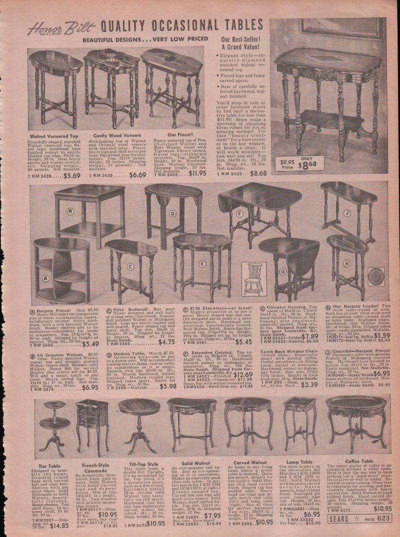 1938 Print Ad Occasional Tables Honor Bilt Drop Leaf Tier Coffee Table Modern Modern Coffee Tables Drawing Furniture Print Ads [ 1075 x 800 Pixel ]