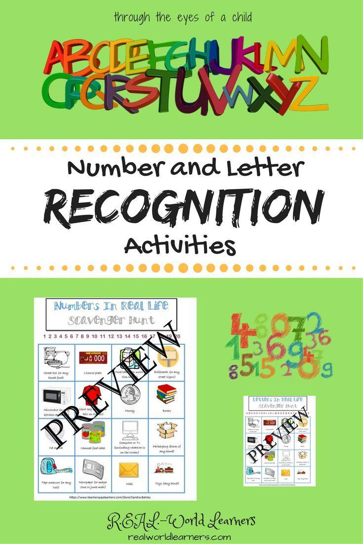Letter Recognition Activities | Interactive activities, Worksheets ...