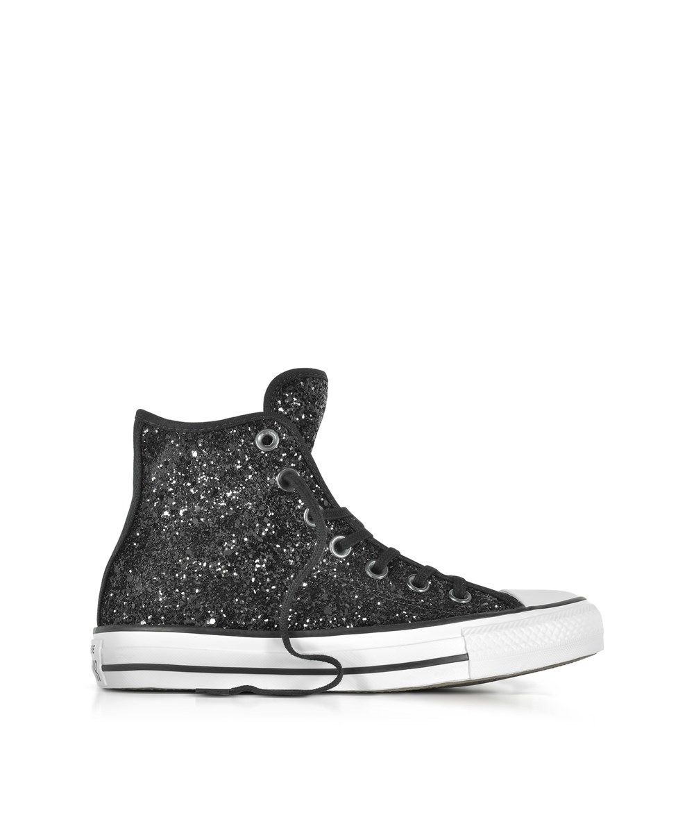 5ea4b18c12ae CONVERSE Converse Women'S Black Glitter Hi Top Sneakers'. #converse #shoes # sneakers