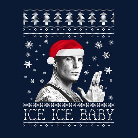 Chuck Norris Weihnachten.Ice Ice Baby Vanilla Ice Christmas Knit Merry Christmas