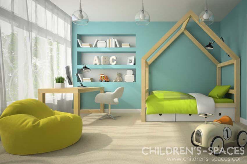 3 Ideas Para Hacer un Cuarto Moderno para Niños - Childrenu0027s Spaces - diseo de habitaciones para nios